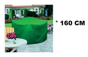 HOUSSE TABLE JARDIN RONDE ° 160 X 100 CM IMPERMEABLE RESISTANT ...
