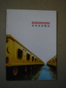 SCHEUERLE  komplettes Programm   Prestige catalogue / Luxusprospekt  199...