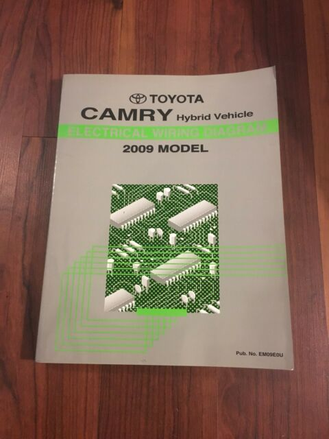 2009 Toyota Camry Hybrid Electrical Wiring Diagram Manual