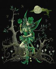 Leprechaun Fairy 2 , Counted Cross Stitch Kit Large feature piece!