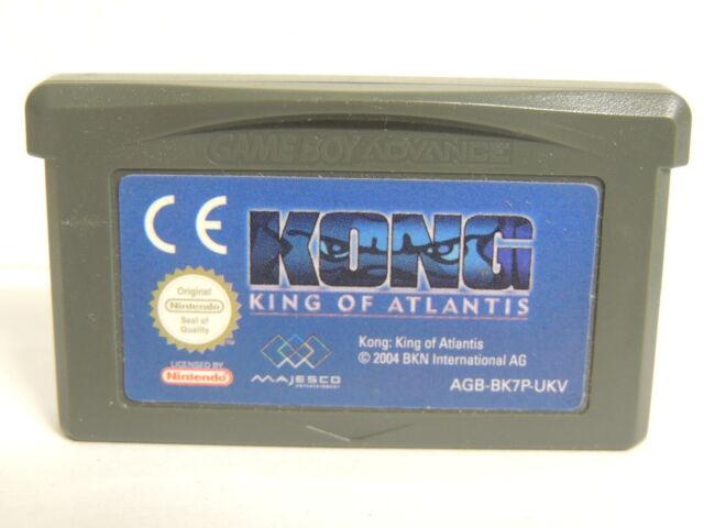 GBA Kong King of Atlantis