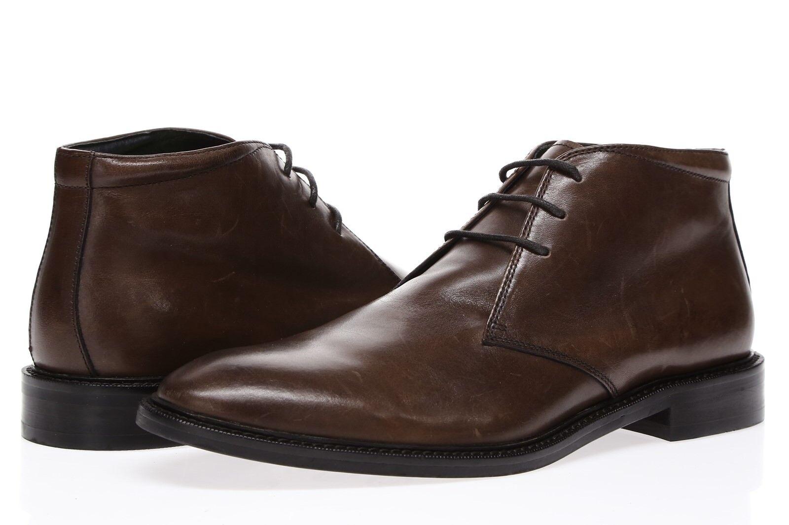 GORDON RUSH Mens 'Baylor' Brown Leather Chukka Boots Sz 9 - 231037
