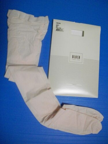 NIP BLOCH NEW in Package PINK Tights Footed  Dance Ballet Ladies TO920L