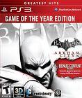 NEW Batman: Arkham City Game of the Year Edition GoTY (Sony Playstation 3, 2012)