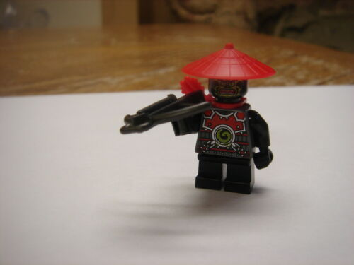 Lego NINJAGO Minifigure Black Villian Soldier Samurai Ninja new 70500 new