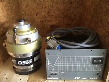 Alcatel 5150 Cp Turbo Pump With Cff 450 Pump Controller And Cable