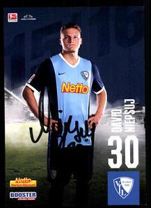 David Niepsuj Autogrammkarte VFL Bochum 2015-16 Original Signiert+A 113586