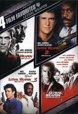 Lethal Weapon: 4 Film Favorites [2 Discs] DVD Region 1
