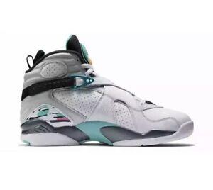 save off e665b 16ef2 Details about Nike Jordan Retro 8 South Beach GS Grade School Size 3Y  3305369 113