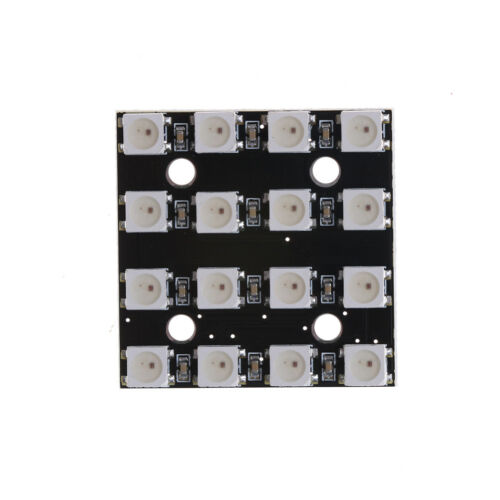 RGB LED 4x4 16-Bit WS2812 5050 RGB LED+Integrated Drivers for arduino QP