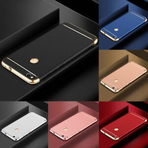 For-Huawei-P8-P9-P10-P20-P30-Lite-P-Smart-Electroplate-Hard-PC-Back-Case-Cover