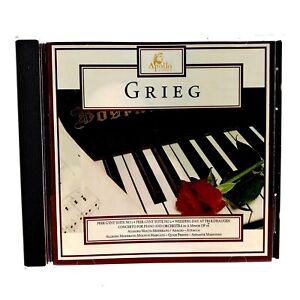 Grieg-Cd-Peer-Gynt-Suite-no-1-amp-2-Wedding-Day-Troldhaugen-Concerto-Mint-Disc