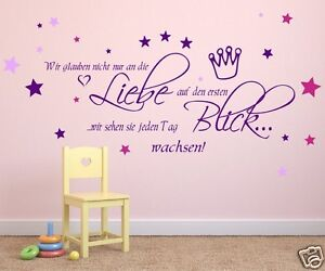 wandtattoo kinderzimmer mit bunten sternen m dchen junge wandaufkleber 68111 ebay. Black Bedroom Furniture Sets. Home Design Ideas