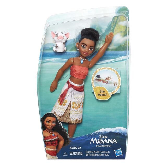 Disney Moana Vaiana Ocean Explorer Doll - Kids/Childs Swimming Moana Doll