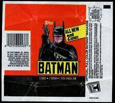 Batman Movie, 2nd Series Tpps Trading Cards Wrapper #W37