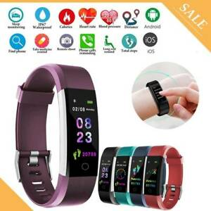 Smart-Bracelet-Wristband-Watch-Heart-Rate-Monitor-Fitness-Tracker-Blood-Pressure