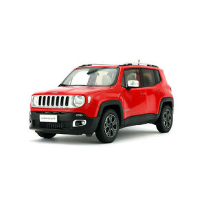 Red Jeep Renegade >> Details About Original Model 1 18 Jeep Renegade Limited 2016 Chrysler Red