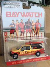 Greenlight  HOLLYWOOD series Baywatch Emerald Bay Beach Patrol 2016 Ford F-150