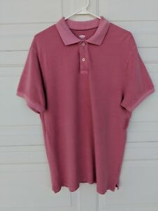 Old-Navy-Polo-Shirt-MENS-Short-Sleeve-Pink-XL
