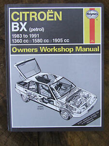 citroen bx petrol 1360 1580 1905 cc haynes service repair manual ebay rh ebay ie Haynes Repair Manuals Mazda Haynes Repair Manuals Online