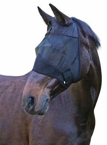 Covalliero Fliegenschutzmaske OHNE Ohren  3 Größen
