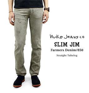 Nudie-Jeans-Slim-Jim-FARMERS-DENIM-size-29