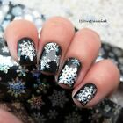 Weihnachten Schneeflocken Nagel Sticker Glitzer Folie Holographic Nail Foils