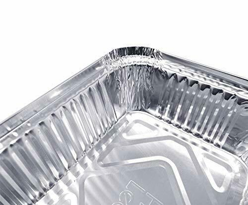 20 Pack Drip Pans Compatible with Napoleon BBQ Grills 62007 Grease Tray Aluminum