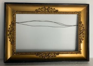 Antique-French-frame-1900-with-gilt-bronze-decoration