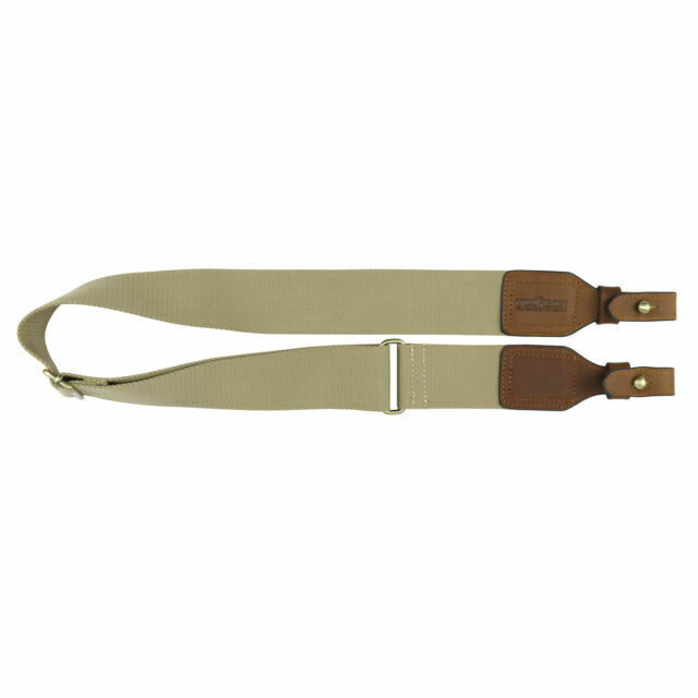 Tactical Gun Slings Rifle Straps Quick Release Webbing Leather Shooting-TOURBON
