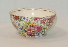 Vintage ROYAL WINTON Chintz SUMMERTIME Sugar Bowl