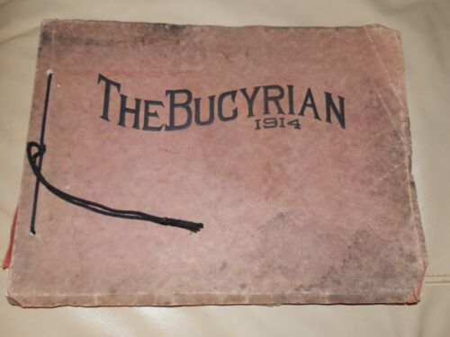1914 Bucyrian HIGH SCHOOL Bucyrus OH YEARBOOK Annual Crawford County