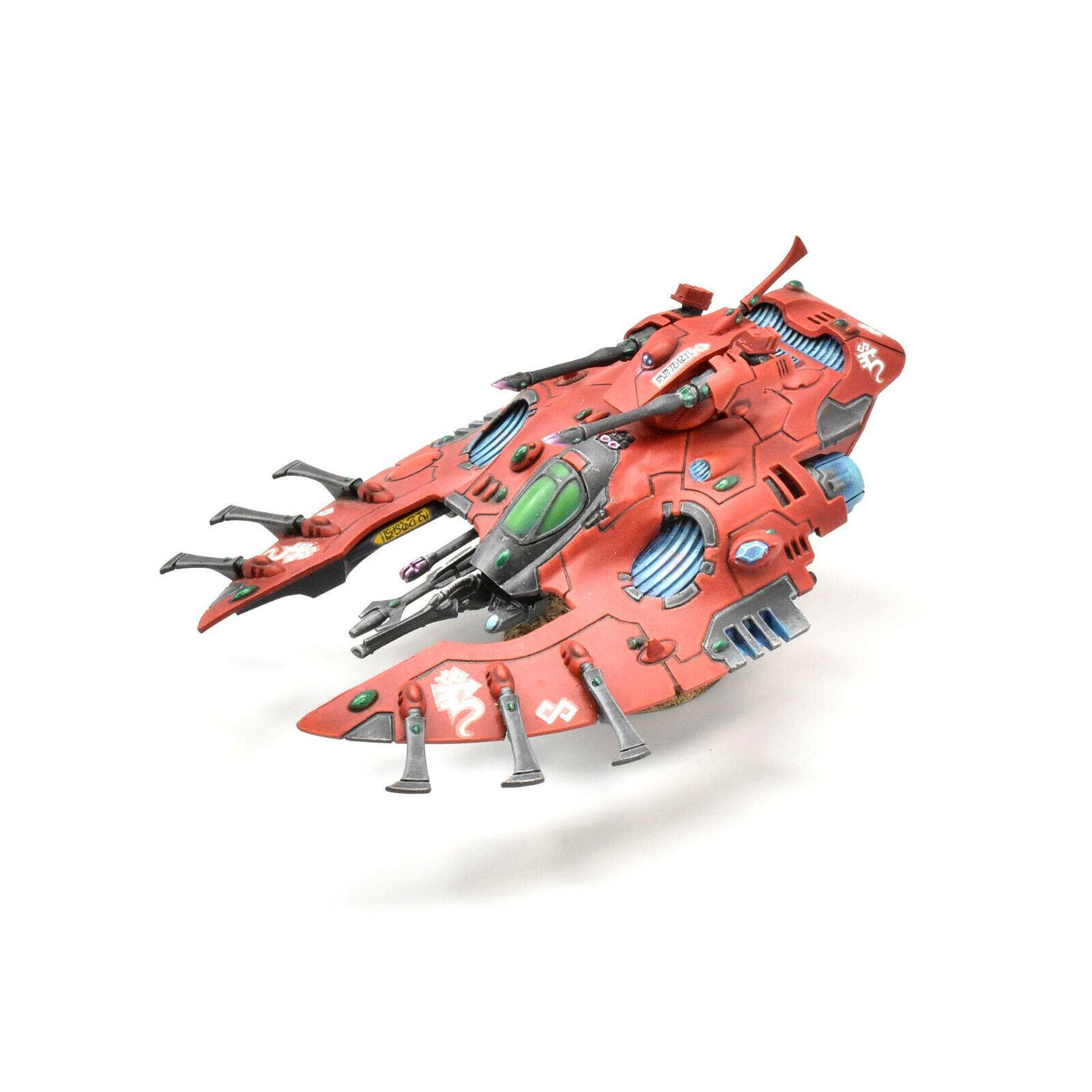CRAFTWORLDS wave serpent  1 WELL PAINTED Warhammer 40K Eldar   magasin en ligne de sortie
