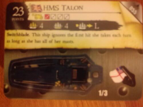 Pirates Fire /& Steel #055 HMS Talon Pocketmodel CSG