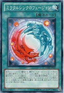 Common Unlimited Edition  YuGi DREV-EN057 Miracle Synchro Fusion M//NM 3x