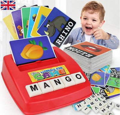 UK/_ LK/_ NE/_ LC/_ Children English Spelling Alphabet Game Early Learning Education
