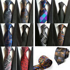 New multicolor Classic Geometric JACQUARD WOVEN 100% Silk Men's Tie Necktie AS