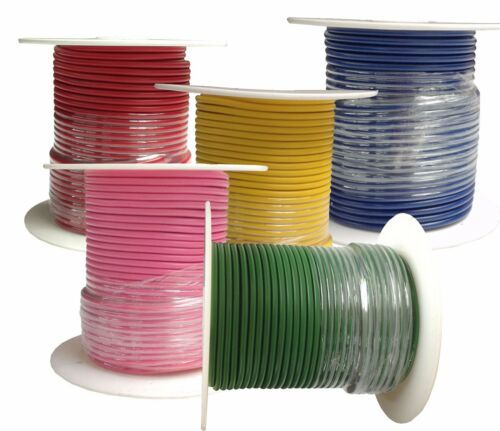 Choose Colors! 12 Gauge Primary Wire5-Pack SAE J1128Made in U.S.A.