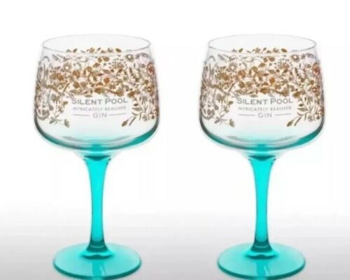Silent Pool Gin Balloon Glass X 2 New Cheapest On