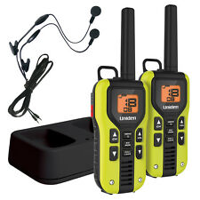 Uniden 40 Mile FRS/GMRS Two-Way Radio Li-Ion Charger Headsets 2-Pack GMR4060