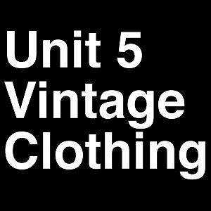 Unit 5 Vintage and Retro Clothing