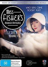 Miss-Fisher-039-s-Murder-Mysteries-Series-1-Part-1-DVD-2012-2-Disc-Set-R4-VGC