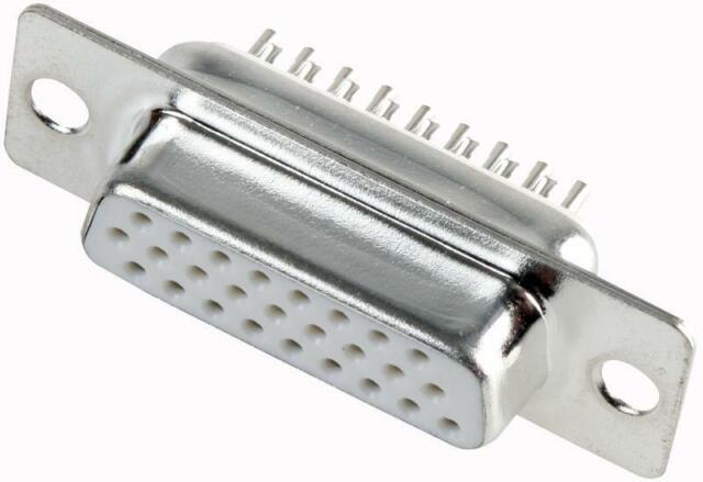 R39-26-FS Pro Signal D Type Socket , Solder Bucket , Hd , 26 Way