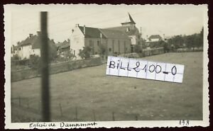 Dampmart-Seine-et-Marne-eglise-et-vue-photo-de-Juin-1934