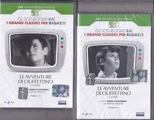 2-Dvd-Sceneggiati-Rai-LE-AVVENTURE-DI-CIUFFETTINO-di-Yambo-completa-nuovo-1969