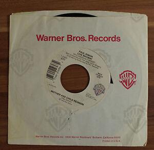Single-7-034-VINYL-Paul-Simon-Live-Rhymin-Mother-and-Child-Reunion-1974