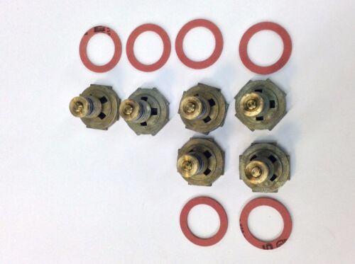 6 PACK HOLLEY CARBURETOR POWER VALVE 2.5 3.5 4.5 5.5 6.5 7.5 8.5 9.5 10.5 GASKET