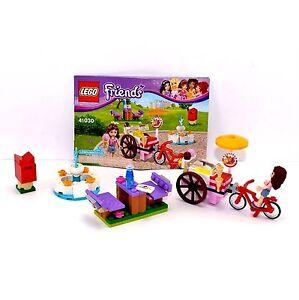 Lego Friends Olivias Ice Cream Bike 41030 With Instructions No Box