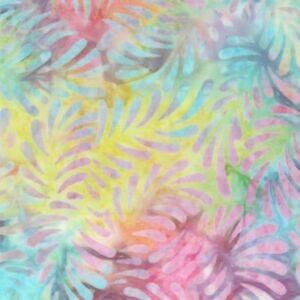 Wilmington-Batavian-Batik-Feathers-22098-356-Multi-100-Cotton-Batik-BTY