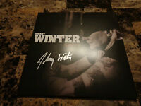 Johnny Winter Rare Signed Roots Limited Vinyl Lp Record Blue Guitar Legend Photo